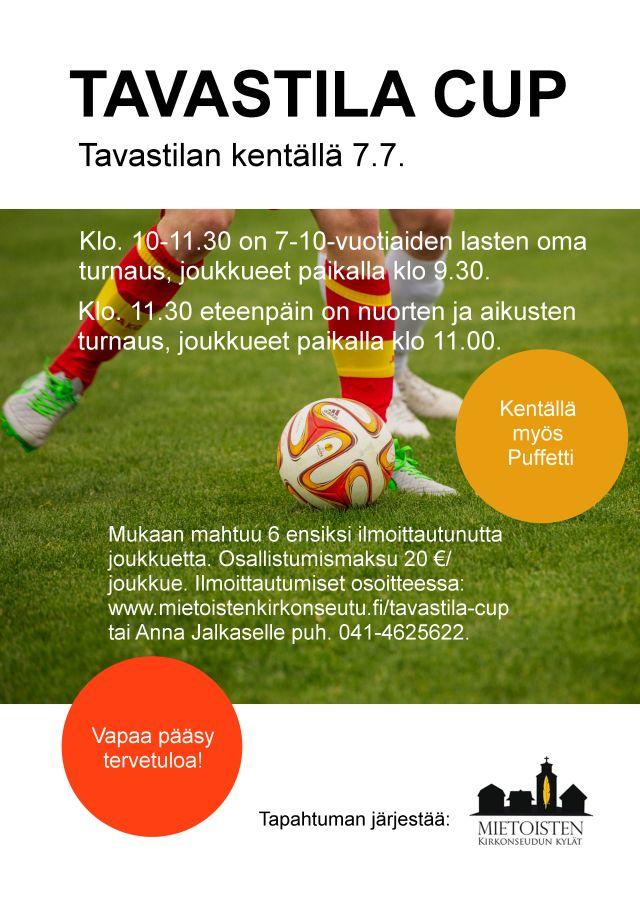 TAVASTILA CUP 2018 mainos